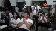 Cover: La Peña de Real Madrid accablée après la defaite au Classico