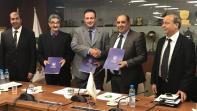 بالصور. حسبان يوقع اتفاقية مشاركة الرجاء في البطولة العربية