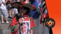 أصغر مشجع مغربي بروسيا