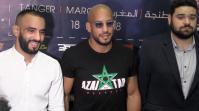 Cover: ابو بكر و عثمان زعيتر يتحدثان عن اول حدث عالمي افريقي لفنون الحرب المختلطة بطنجة