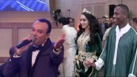 بالفيديو. النجوم المغاربة حاضرون في حفل زفاف حمزة منديل