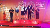 أبطال المغرب يصعدون منصات التتويج في الألعاب العالمية للأولمبياد الخاص بأبو ظبي