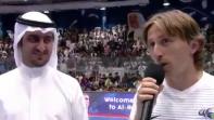 بالفيديو: مودريتش يتمنى رمضان كريم باللغة العربية
