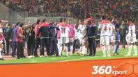 Cover: فيديو خاص من الملعب يوضح عدم انسحاب الوداد ومطالبة الناصيري بالفار
