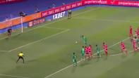 بالفيديو. الحارس معز ينقذ تونس ويصد ضربة جزاء ضد السنغال ببراعة