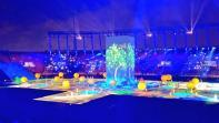 بالفيديو. حفل إفتتاح رائع للألعاب الإفريقية