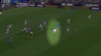 بالفيديو. سرعة رونالدو الخيالية في هدف يوفنتوس الأول أمام نابولي