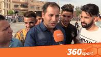 cover بالفيديو : الأجواء بالملعب الشرفي قبل مباراة الأسود والمنتخب الليبي