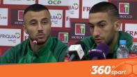 cover La conférence de Ziyech et Saïss avant Maroc-Mauritanie