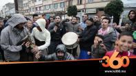 فرحة جماهير الطاس في الحي المحمدي بعد التتويج التاريخي بكأس العرش
