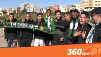 Cover_Vidéo: Le360.ma •جماهير الرجاء تكستح محيط ملعب طنجة لمتابعة مباراة الرجاء واتحاد طنجة