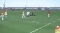 بالفيديو. مهارة زيدان في تداريب ريال مدريد