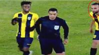بالفيديو. تصرف غريب من لاعب المقاولون العرب أمام الجعفري