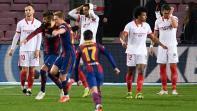 قلق في برشلونة حيال إصابة بيكيه قبيل مباراة سان جرمان