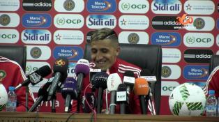 """غلاف فيديو... فجر: """"لو عدت للمغرب سأوقع لفريق الرجاء """""""