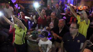 Cover: Classico: une grande joie chez la Peña du Barça après la victoire