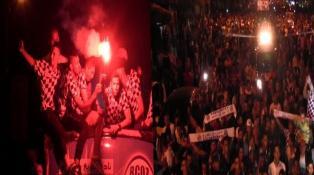 احتفالات رائعة بمدينة وادي زم فرحا بصعود فريقها للدوري الاحترافي