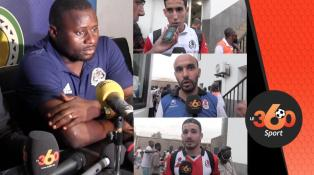 Cover: تصريحات اللاعبين بعد مقابلة الفتح أماك مازيمبي