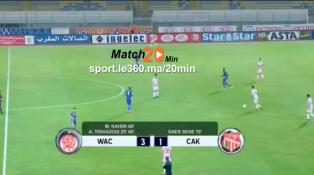 Cover : 20min - Match WAC - CAK 3 - 1