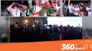 Cover: من قلب الدار البيضاء فرحة كبيرة للجمهور الجزائري بالفوز في نهائي