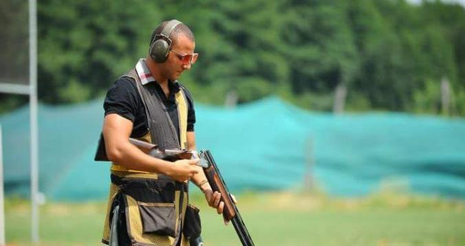 محمد الرماح في رياضة الرماية