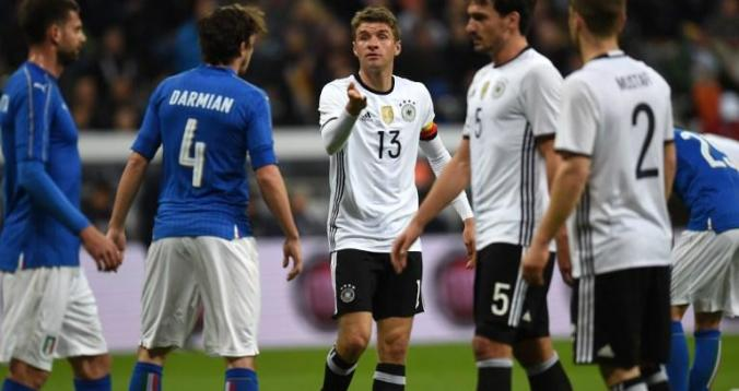 منتخب ألمانيا وإيطاليا