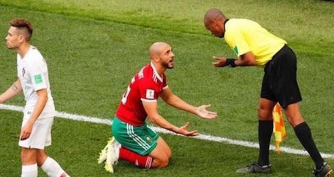 المنتخب المغربي المتضرر الأبرز من تقنية الفيديو