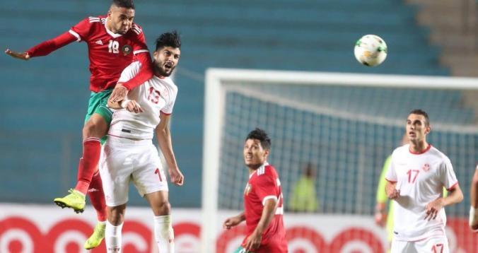 بالصور. أبرز لحظات مباراة الأسود أمام تونس3