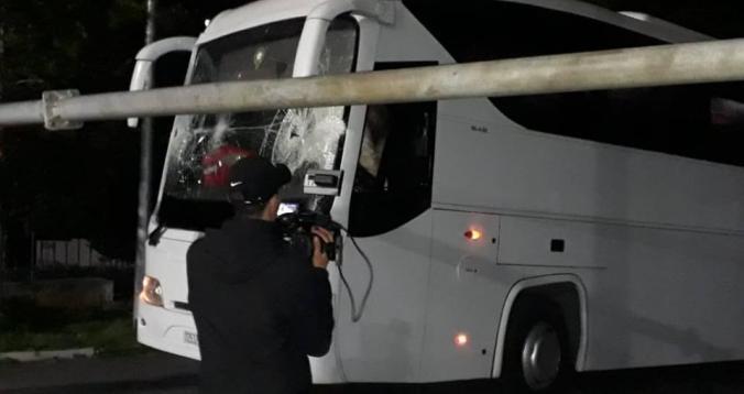 حافلة الوداد حادث