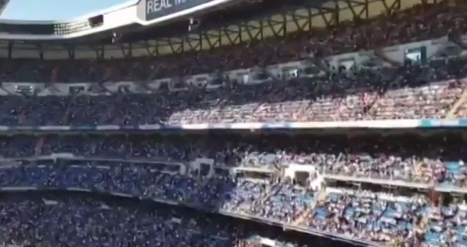 بالفيديو. ردة فعل جماهير البرنابيو بعد عودة زيدان