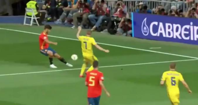 بالفيديو. هدف راموس أمام السويد