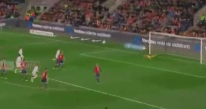 بالفيديو. هدف إسبانيا الرائع أمام النرويج