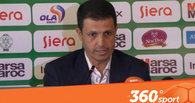 Cover_Vidéo: Le360.ma •سلامي يكشف عن أهدافه مع الرجاء والمشاكل الإنضباطية للاعبين