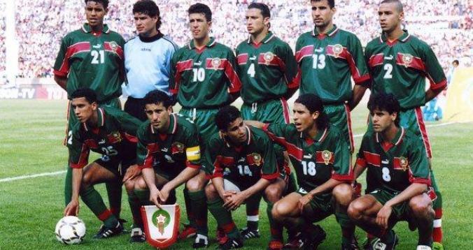 المنتخب المغربي 1998
