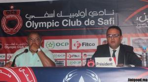 أنور دبيرة رئيس أولمبيك أسفي