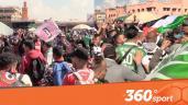 Cover: احتفاليات رائعة من جماهير الوداد و الرجاء في ساحة جامع الفنا
