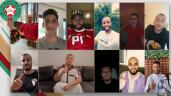 """بالفيديو.""""الأسود"""" يهنئون المغاربة بحلول عيد الفطر"""